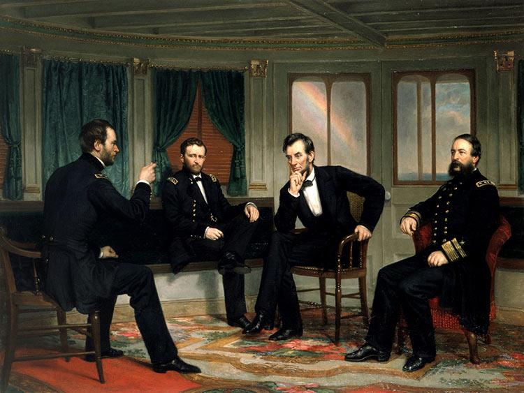 Авраам Линкольн президент