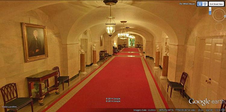 Внутри Белого дома в США