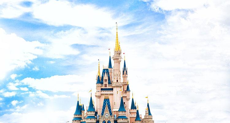 замок золушки, мир диснея