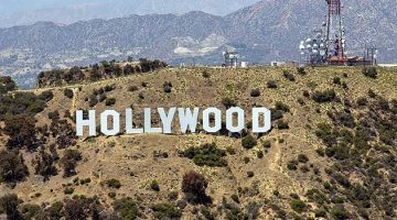 Знак Голливуда в Лос-Анджелесе