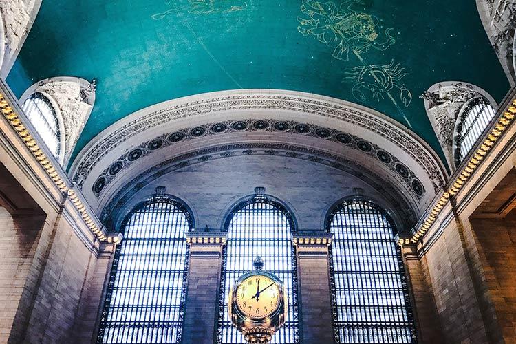 Часы в Центральном вокзале Нью-Йорка