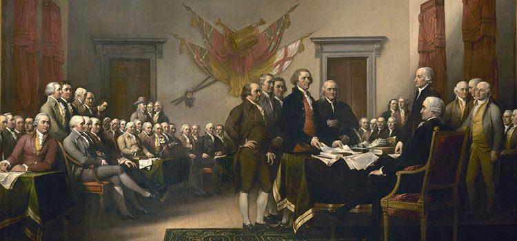 предложения к рассмотрению текста Декларации независимости США