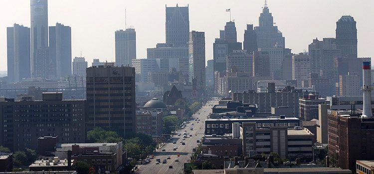 Детройт город-призрак