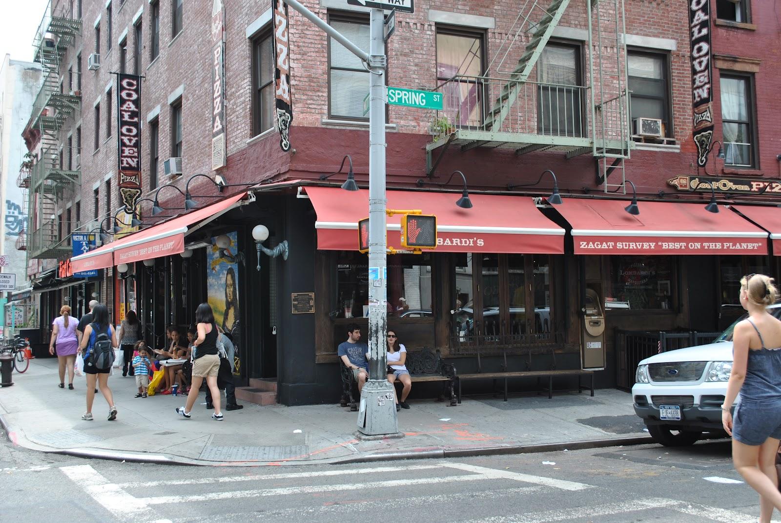 Пиццерия Lombardi's в Нью-Йорке