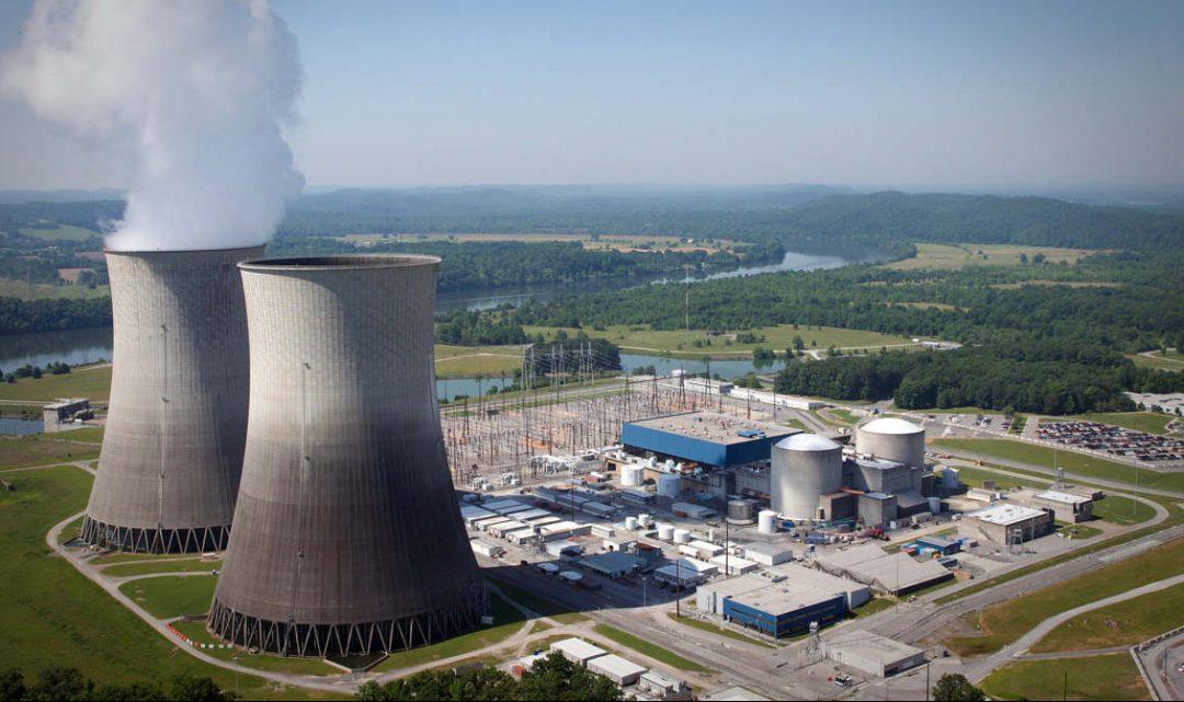 Атомная электростанция сша