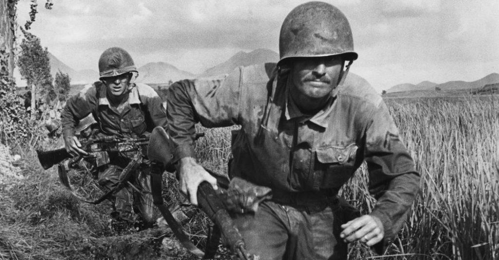 Американские солдаты в Корее